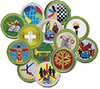 merit badge patches