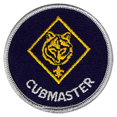 Cubmaster patch