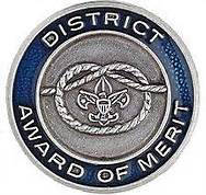 District Award of Merit